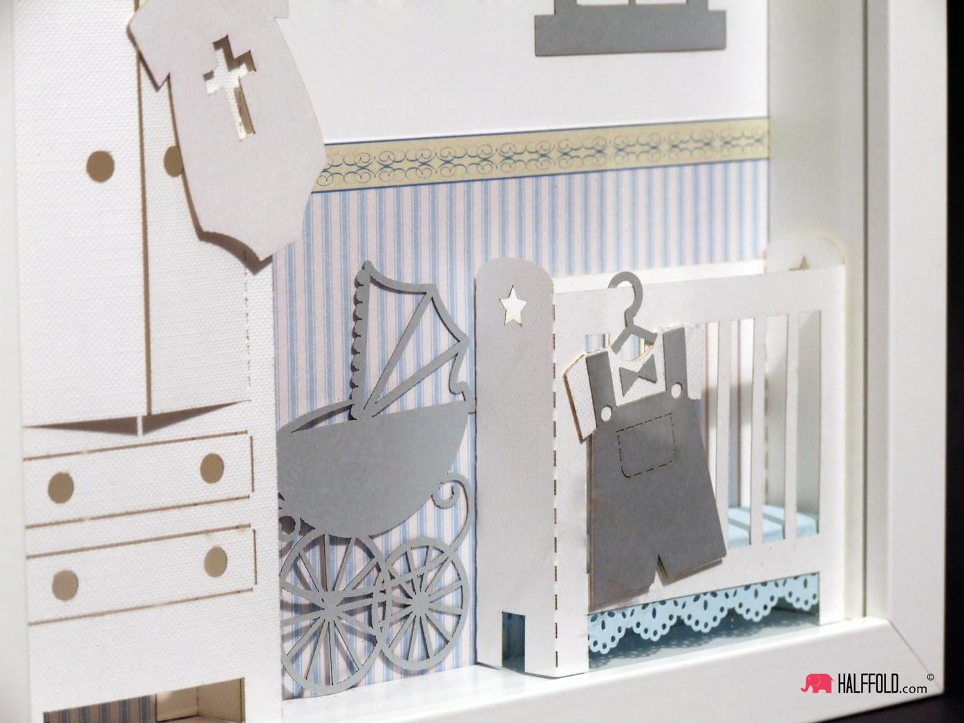 Chrzest pamiątka chrztu narodziny dziecka metryczka obraz 3d handmade dziewczynki