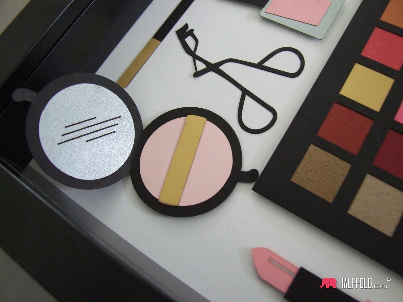prezent urodziny handmade ramka pamiatka kosmetyczka