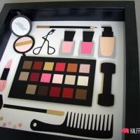 obraz kosmetyki kosmetyczka 18-stka urodziny prezent kobiety handmade 2