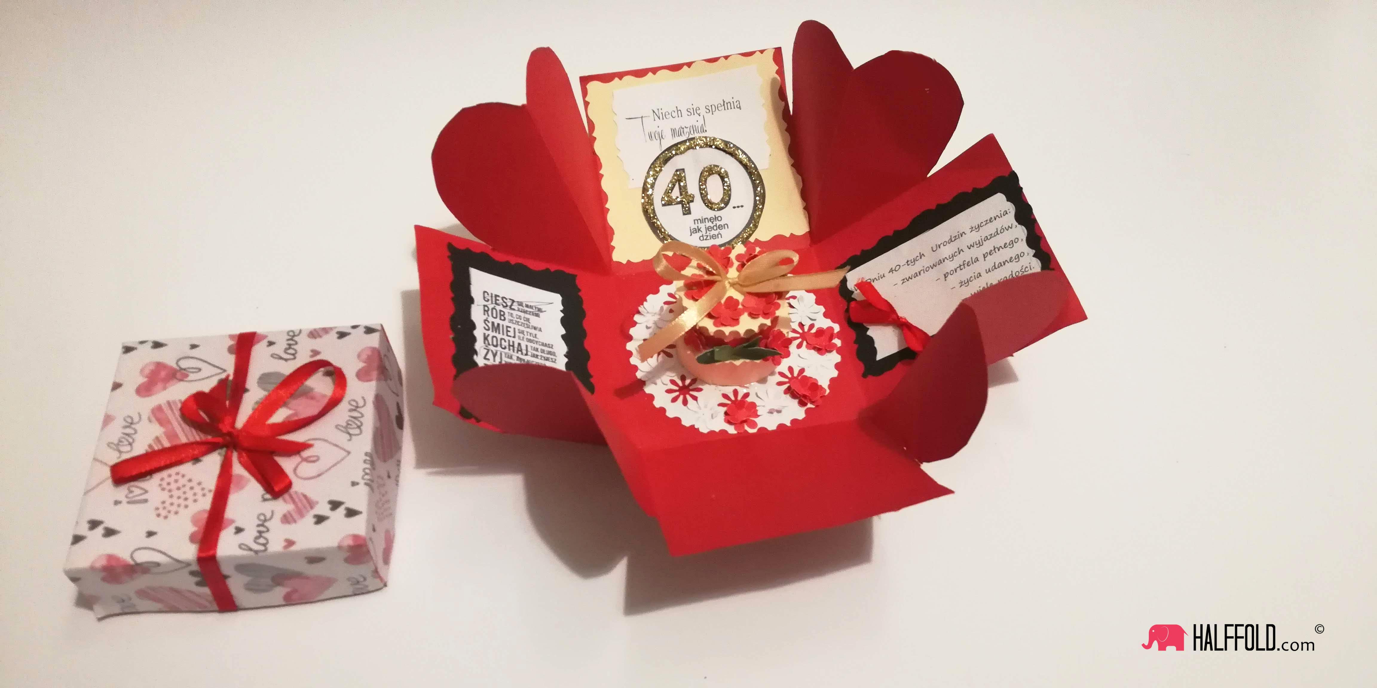 exploding box urodziny
