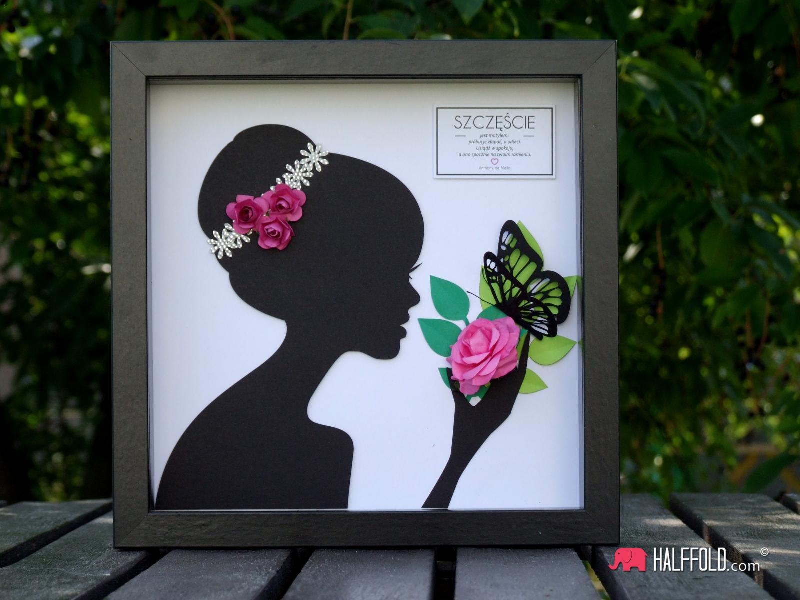 kobieta kwiat logo halfold studio3