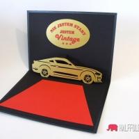 kartka urodzinowa mezczyzny handmade 50 tka halffold studio2