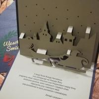 kartki swiateczne pop up halffold studio